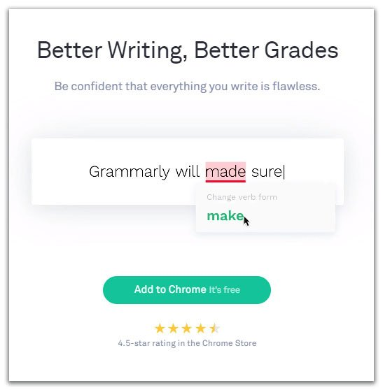 grammarly write better