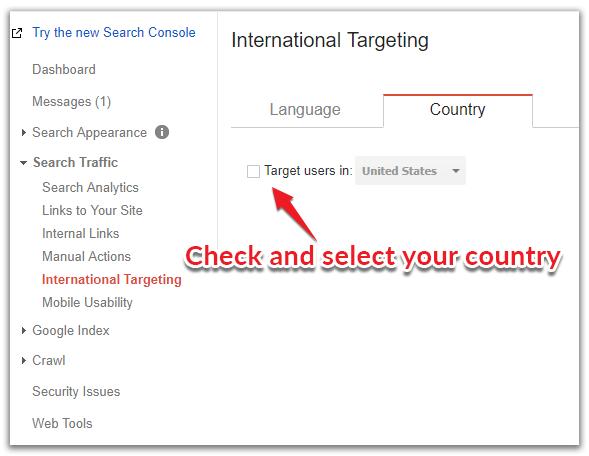 international targeting 1