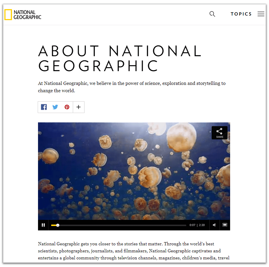 natgeo best about page