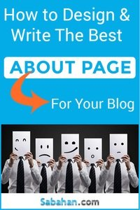 write about page