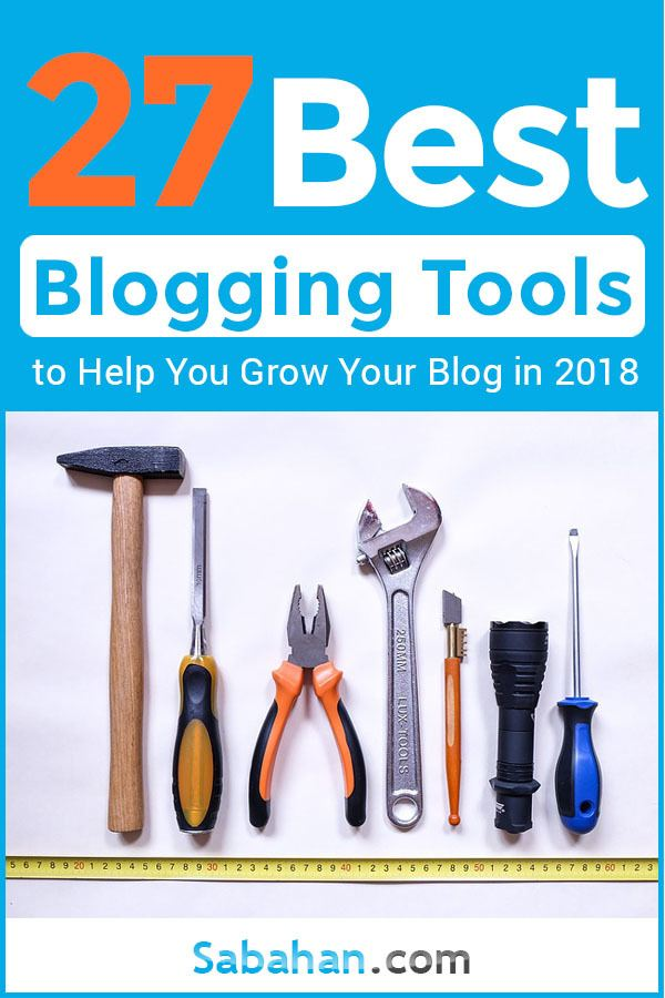 Best blogging tools to grow your blog, tools and resources to increase productivity.   #blogtools #bloggingtools #Bloggingtips #blogmarketing