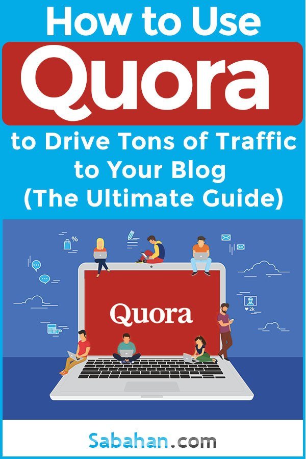 Learn how how to use Quora to drive traffic to your blog.  #quoratips #increaseblogtraffic #howtousequora #quora #questionandanswer