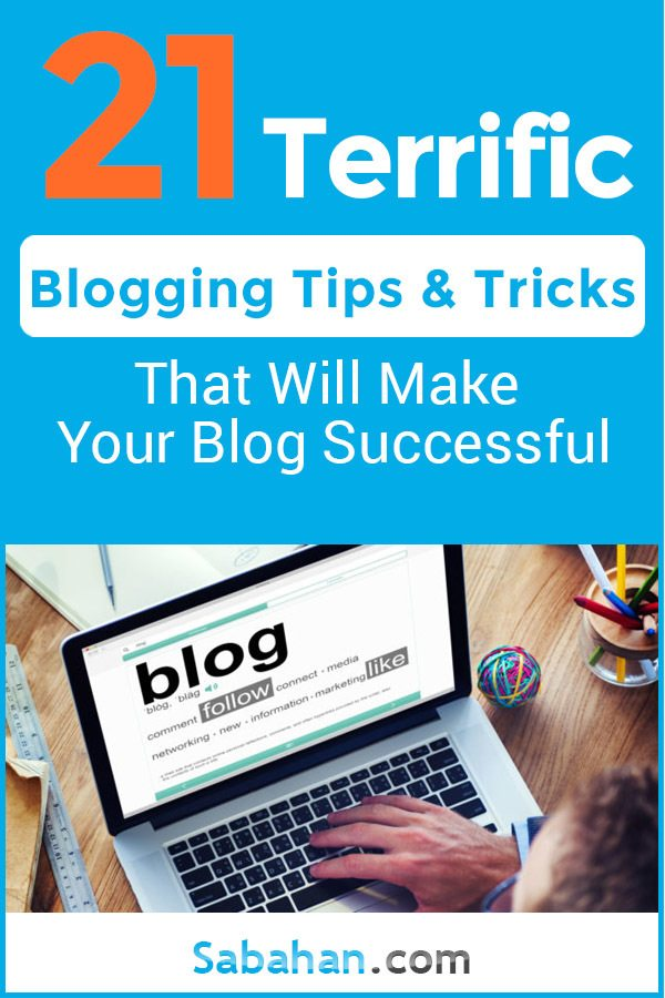 Blogging tips and tricks that will make your blog more successful. #bloggingtips #bloggingtricks #bloggingforbeginners