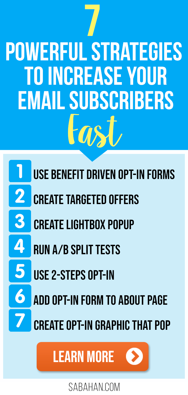 Learn how you can increase your email subscribers with this list building strategies #increaseemailsubscribers #listbuilding #emaillist