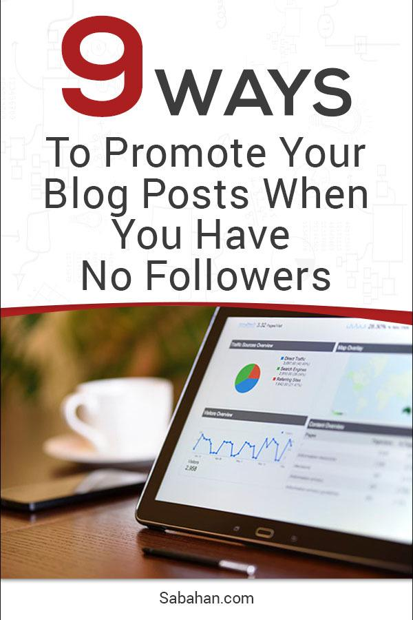 Learn how to promote your blog posts - leverage the social media channels and marketing tools
