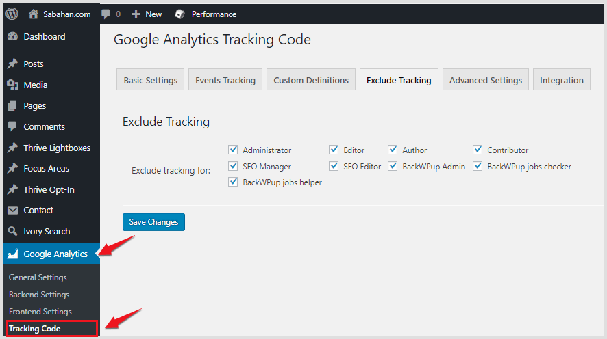 Exclude myself from Google Analytics tracking
